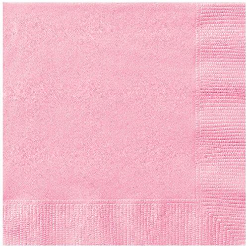 Light Pink Paper Napkins, 50ct