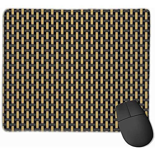 Britischen Stil Schwarz und Tan Verstärker Grill Tuch Gaming Mouse Pad rutschfeste Gummi Mauspad ^ 25 * 30 cm