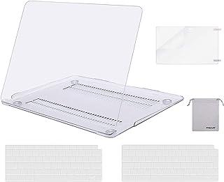 MOSISO Funda Dura Compatible con 2020-2018 MacBook Air 13 A2337 M1 A2179 A1932 Retina,Carcasa Rigido&Cubierta de Teclado(U...