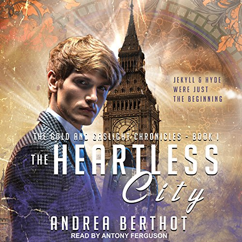 The Heartless City audiobook cover art