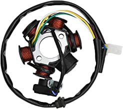 CNCMOTOK Ignition Stator Magneto AC 6 Pole Coil for GY6 125cc 150cc Scooter Moped ATV Dune Buggy Go Kart TAOTAO scooter