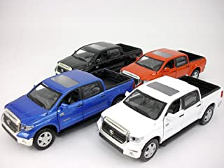 Toyota Tundra 1/36 Scale Diecast Metal Model by Kingstoy - SET OF 4