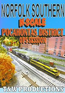 N Scale Pocahontas District Operations Session [DVD] [2013]