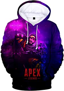 Apex Legends アペックスレジェンドパーカースウェットシャツパーカープルオーバー3d プリントゲーム服用ユニセックス