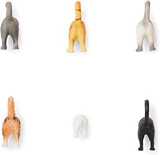 Fox Run 48745 Cat Tail Magnets, 1 x 4.25 x 7.5 inches, Multicolored