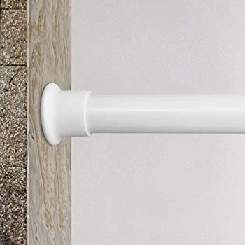 Springs Window Fashions 120 Inch Tension Curtain Rod Adjust Simply Easy Access