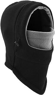 YQXCC کلاه زمستانی بچه گانه ماسک اسکی Balaclava ضد باد گرم قابل تنظیم با کلاه آستر پشم گوسفند وجانوران دیگر برای دختران پسر
