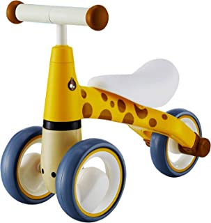 Baby Balance Bike - Baby Bicycle for 6-24 Months No Pedals Sturdy Balance Bike for 1 Year Old First Bike Birthday Gift Saf...