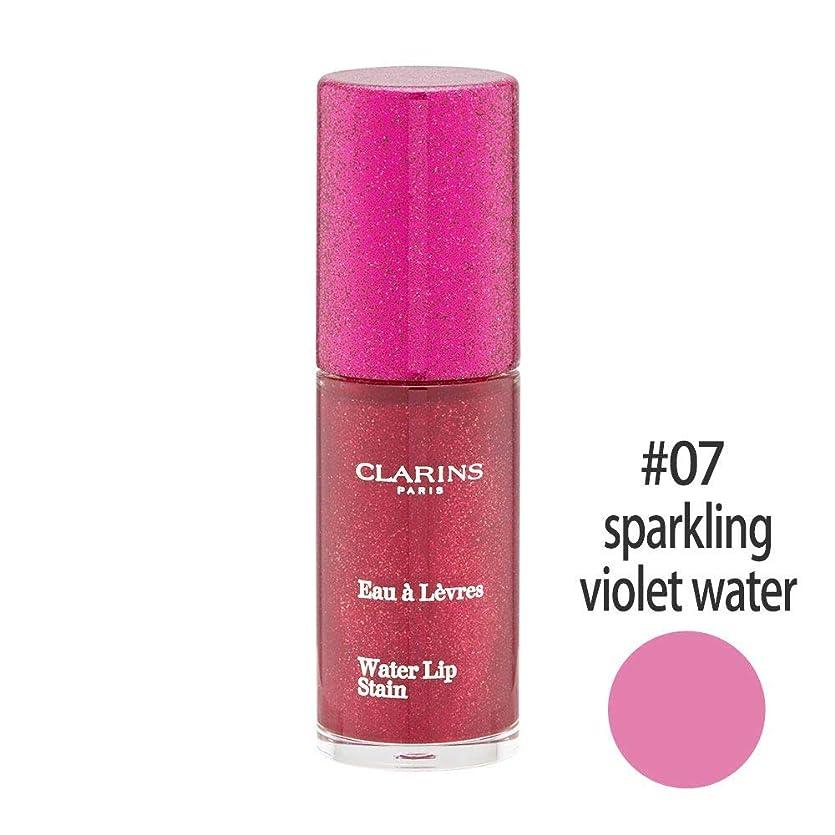 十分な飛ぶマインドクラランス(CLARINS) ウォーターリップ ステイン #07(sparkling violet water) [並行輸入品]