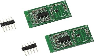 Magic&shell 2 PCS RCWL-0516 Microwave Radar Sensor Switch Module Human Body Induction Switch Module for Arduino 4-28V 100Ma