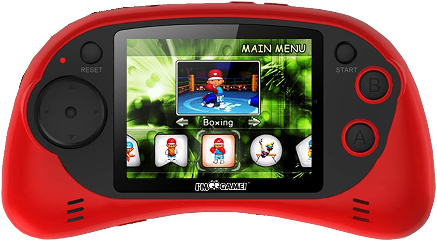 I'm Game 120 Games Handheld Player with 2.7Inch color Display, Red