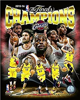 Cleveland Cavaliers 2016 NBA Finals Champions Team Composite Photo (16