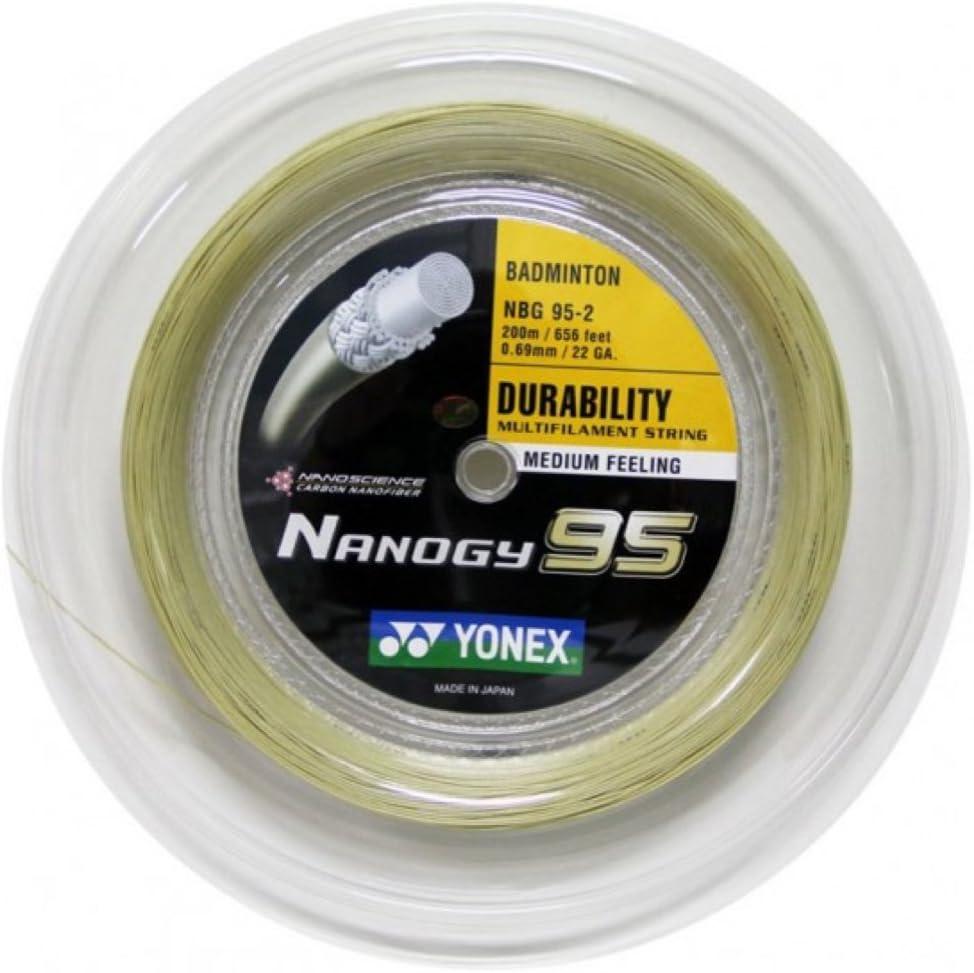 Cuerdas de Badminton Badmintonstring YONEX Nanogy 95-200m Carrete