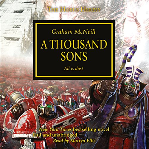 A Thousand Sons audiobook cover art