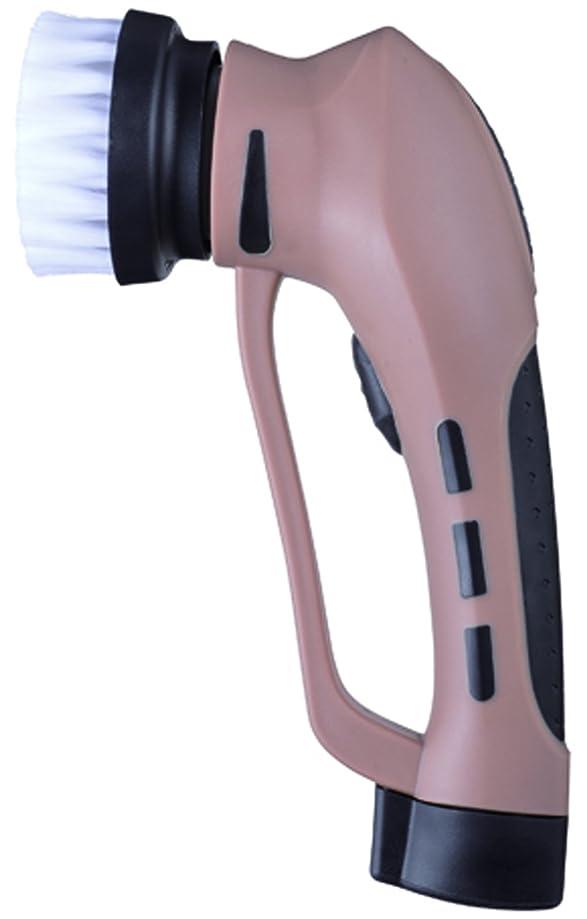 必要性広大なこだわりCCP 「力を使わず手軽に靴磨き」 パワフルシューズポリッシャー(充電式) 4つのアタッチメント付き ブラウン ZZ-SB11-BR