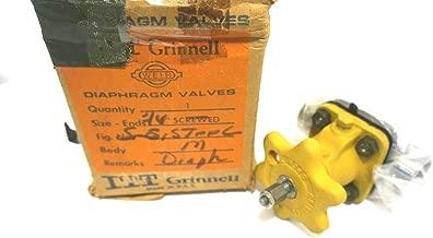 NEW ITT GRINNELL ASTM A-351 DIAPHRAGM VALVE ASTMA351