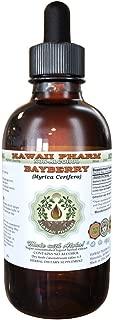 Bayberry Alcohol-FREE Liquid Extract, Bayberry (Myrica Cerifera) Dried Root Bark Glycerite 2 oz