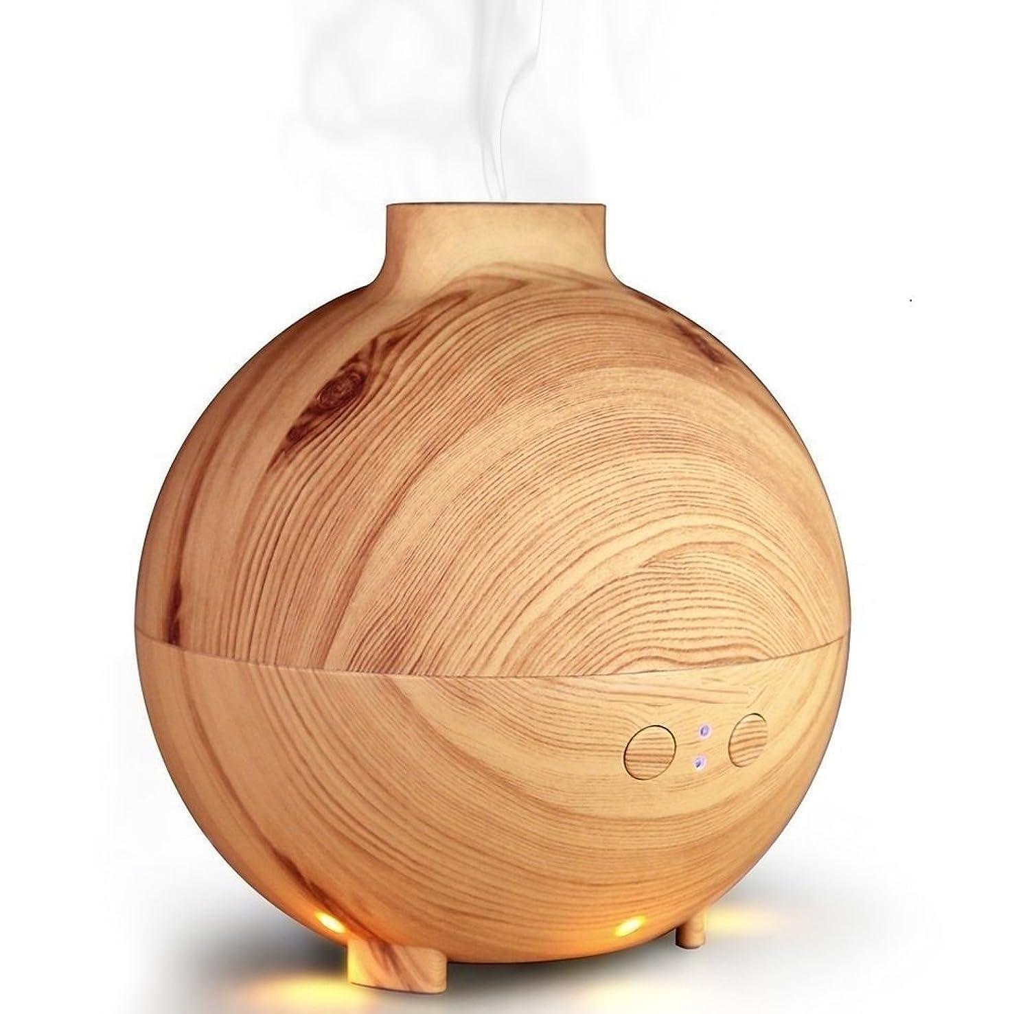 リレーリレーイタリックアロマエッセンシャルオイルディフューザー、アロマテラピー加湿器空気清浄機クールミストの香りクールミスト加湿器用家庭、ヨガ、オフィス、スパ,lightwood