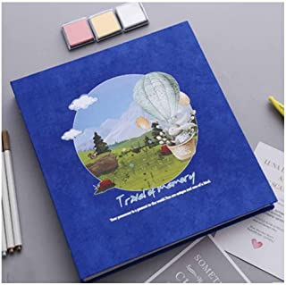 QIANZICAIDIAN Album, Traditional Photo Album, Couple Handmade Creative Romantic Love Album, Hey,Tourism And Meaning Power ...