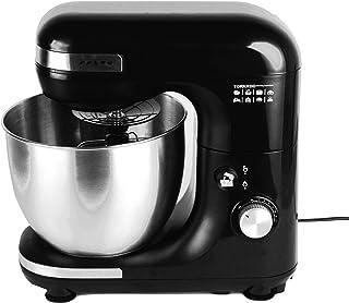 Tornado TSM-600W Kitchen Machine with 5 Liter Stainless Bowl, 600 Watt - Black and Silver