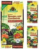 gardopia Spar pacchetto: 3X 20litri Neudorff neudohum di pomodori e verdure Terra, 100% privo di torba