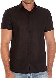 Romano Men's 100% Linen Shirt in 8 Colors