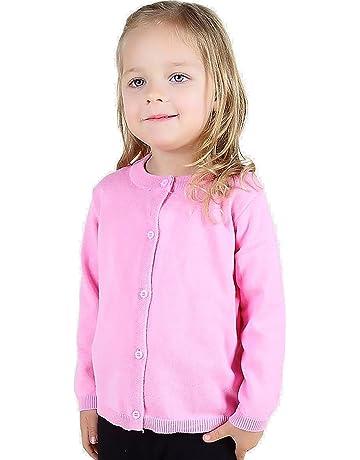 faf7f0cf8bafa (ケイグラッソ) 子供服 シンプル 無地 カーディガン 長袖 ニット (全5色) セーター