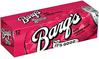 Barq's Red Creme Soda, 12 oz (24 Cans)
