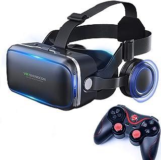 Audífonos de Realidad Virtual, Alcance de VR 3D El más liviano para películas y Juegos en 3D Alcance Virtual Compatible co...