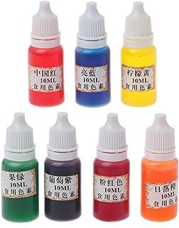 Lamdoo Pigmento de Resina epoxi 7 Colores Colorante Tinte