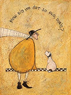 The Art Group Sam Toft How Did We Get So Old, Doris Canvas Print, Cotton,