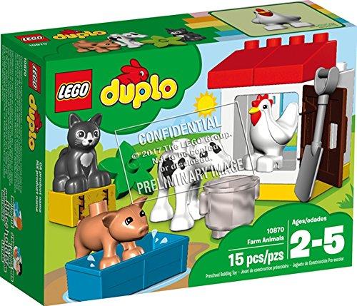 LEGO® DUPLO® Tiere auf dem Bauernhof