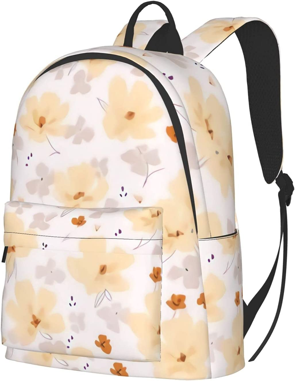 Soft Small Floral - on light Backpac Backpack Laptop Travel Special Campaign Super beauty product restock quality top! pink