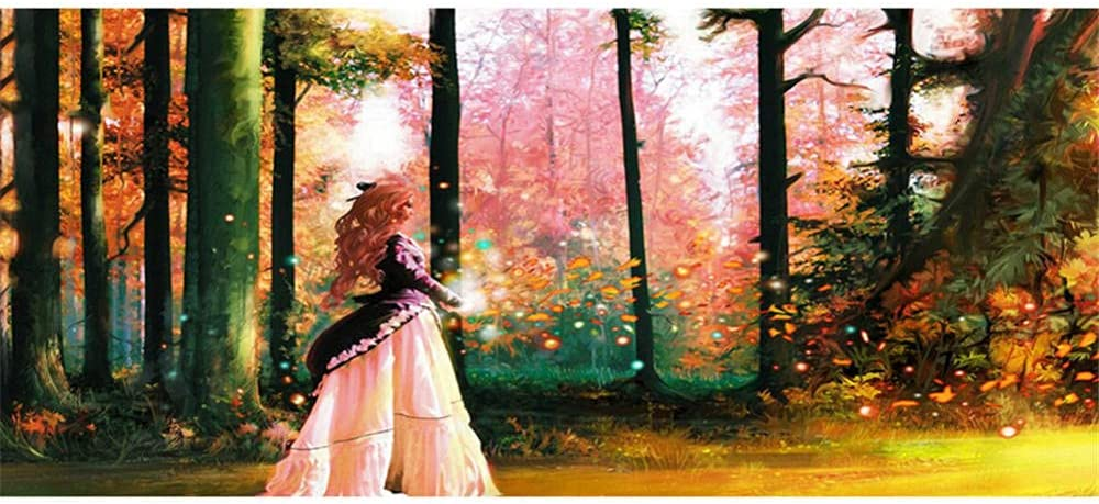 DIY Limited price 5d Diamond Painting kit for Max 82% OFF Girl Adults Forest 60x120cm 24x4