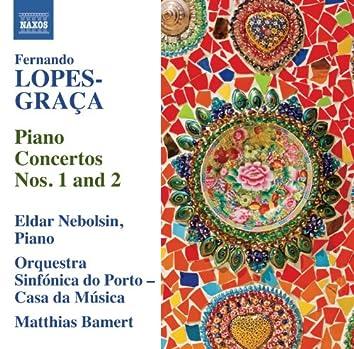 Lopes-Graça: Piano Concertos Nos. 1 & 2