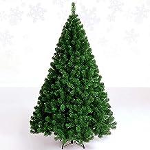 SLZFLSSHPK Kerstboom decoratieXmas bomen Kunstmatige 5FT Kunstmatige Kerstboom Vouwen Metalen Stand 400 Tak Tips Premium S...