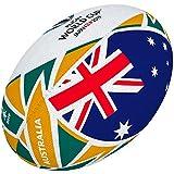 Gilbert Coupe du Monde de Rugby Japon 2019Boule de Drapeau de l'Australie 5 Multicolore