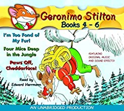 I'm Too Fond of My Fur/Four Mice Deep in the Jungle/Paws Off, Cheddarface!: 04 to 06 (Geronimo Stilton)