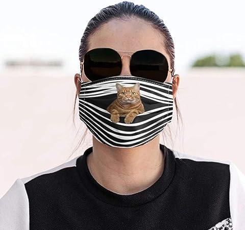 Callm Unisex Funny Face Bandanas Cotton Mouth Face Washable//Reusable//Comfortable//Breathable Fashion Face Bandanas for Adults