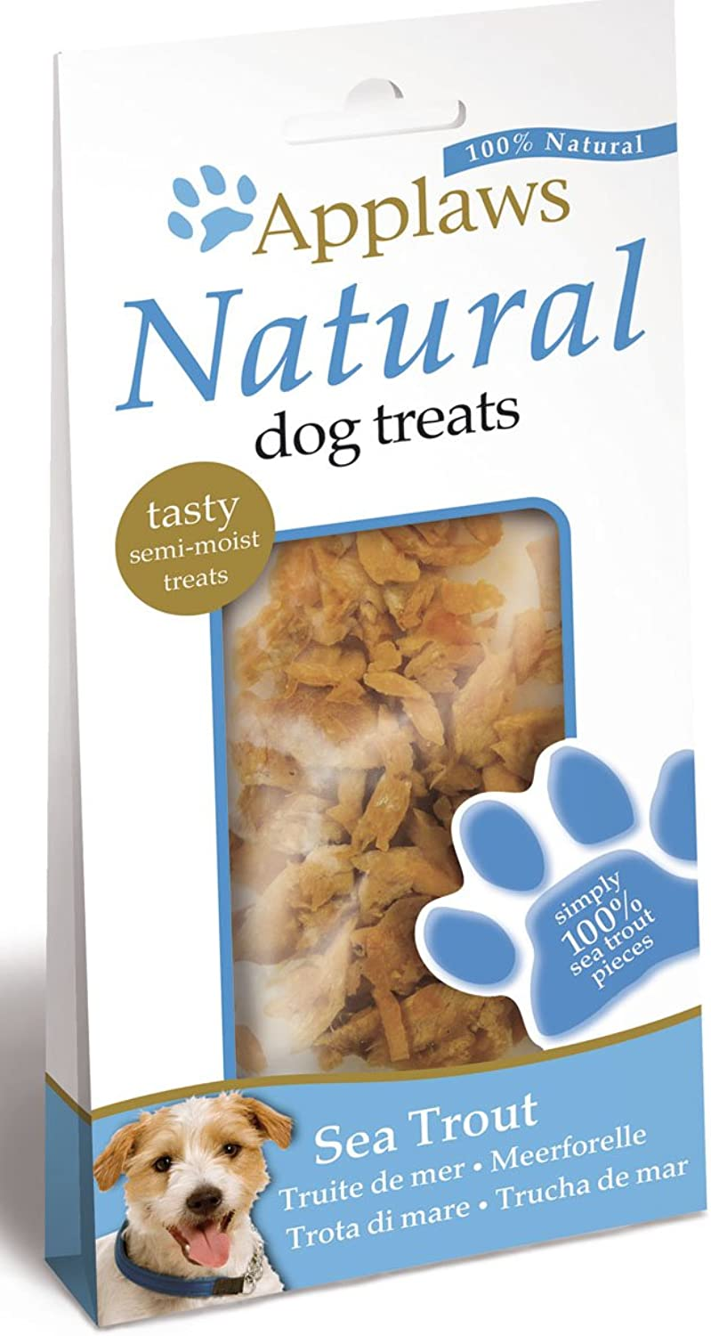 Treat Natural Dog Mpm Sea Applaws 30G Trout 7d0dbpvvj852-New