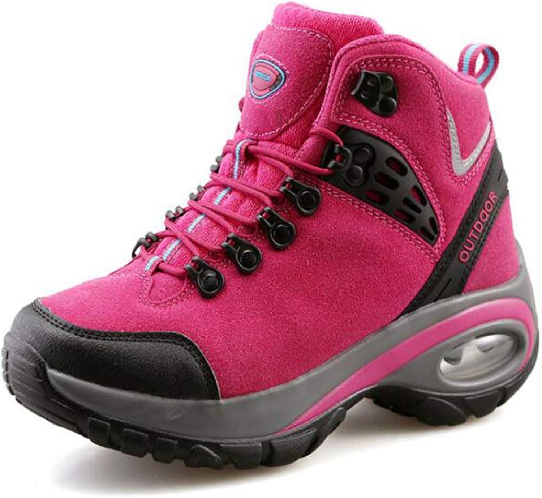 Hiking shoes Women Air Cushion Waterproof Trail Climbing Hunting Trekking Boots