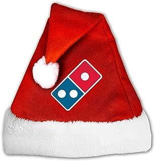 Dominoâ€s Pizza Logo Christmas Santa Hat for Adult & Children