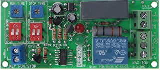 Sixsons Cycle Delay Switch Timer Relay Board Turn on/Off Timing Relay Module AC 110V 120V 220V 230V
