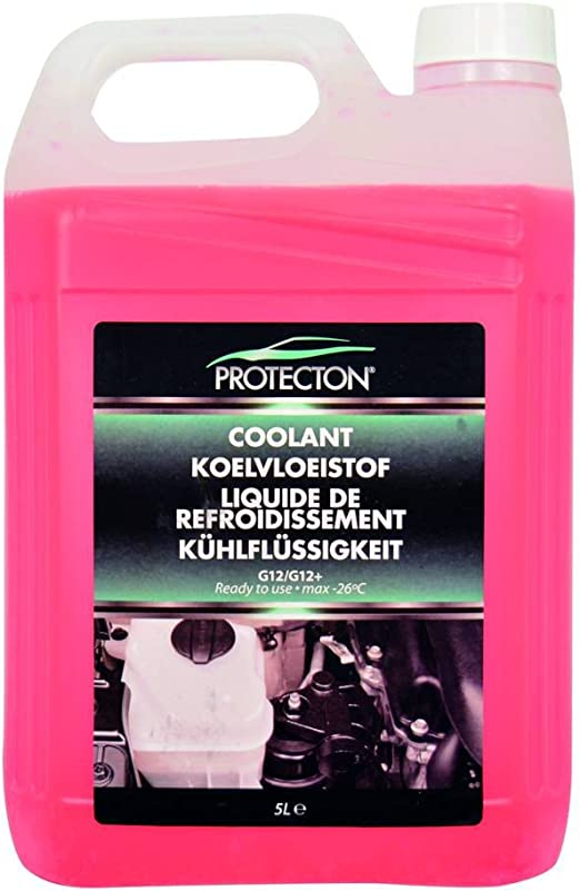 Protecton Kühlflüssigkeit G12 Mit Gebrauchsfertig 5 L 1890910 Auto