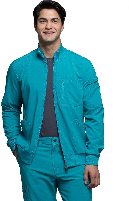 CHEROKEE Infinity Men Warm Up Scrubs Jacket Zip Front CK305A
