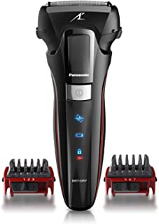 Panasonic Hybrid Wet Dry Shaver, Trimmer & Detailer with Two Adjustable Trim..