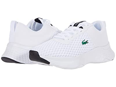 Lacoste Kids Court-Drive 0120 1 SUJ (Little Kid/Big Kid) (White/Black) Kid