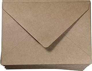 A4 Brown Envelopes 100 Pcs Kraft 4 x 6 | Invitations and Announcements | Card and Photo | 4 1/4