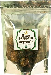 Esutras Organics Raw Whole Cane Jaggery Cubes , 8 Ounce