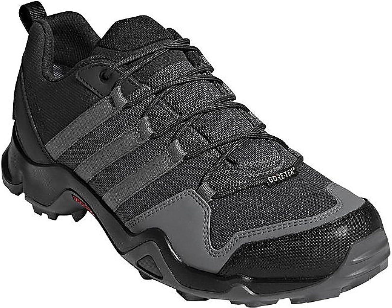 Adidas outdoor Men's Terrex AX2R GTX Carbon Grey Four Solar Slime 9 D US